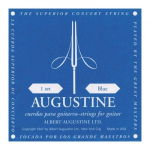 AUGUSTIN SET 6 CORDE BLACK LABEL HIGH TENSION-8