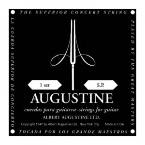 AUGUSTIN SET 6 CORDE BLACK LABEL LOW TENSION-8