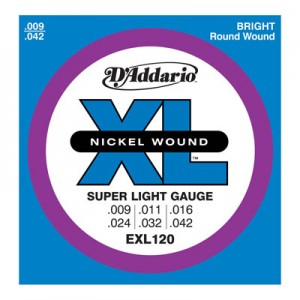 D'ADDARIO EXL 120 SUPER LIGHT-8